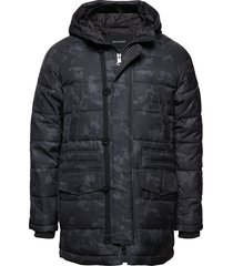 jaden ds jackets padded jackets zwart matinique