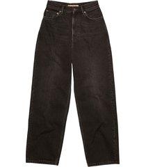 cropped 1993 vintage jeans, black