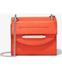 proenza schouler delta crossbody bag lava/red one size