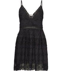 ella dress korte jurk zwart by malina