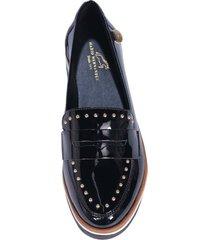zapato taches negro julia