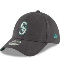 new era seattle mariners charcoal classic 39thirty cap