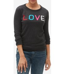 chaleco crazy love mujer gris gap