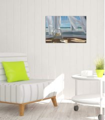 "icanvas ""gentle reader"" by karen hollingsworth gallery-wrapped canvas print (26 x 40 x 0.75)"