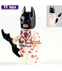 classic kiss suit batman dc super heroes minifigure building blocks bricks toys