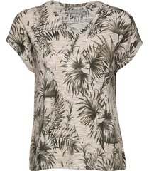 fritireg 1 t-shirt t-shirts & tops short-sleeved multi/mönstrad fransa