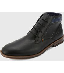 zapato casual negro-azul san polos