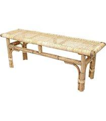 bench webbing top 110x30x45cm
