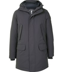 save the duck arctic synthetic down parka - grey