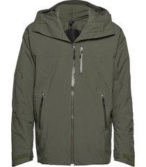 stranda ins hybrid jkt outerwear sport jackets groen bergans