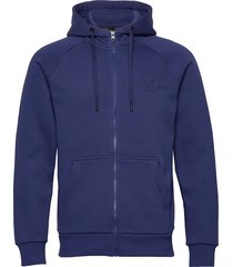 m orig zh hoodie trui blauw peak performance