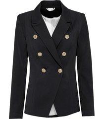blazer con bottoni dorati (nero) - bodyflirt boutique