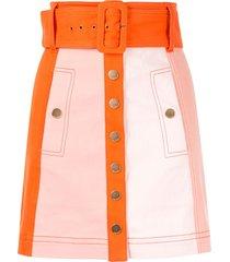 alice mccall chelsea hotel skirt - orange