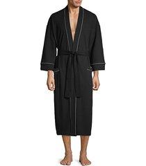 waffle knit robe