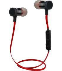 audífonos bluetooth deportivos inalámbricos, m90 sport inalambricos audifonos bluetooth manos libres con micrófono estéreo manos libres auricular (rojo)