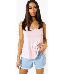 basic swing hemdje, pink