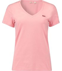 t-shirt perfect v-neck roze