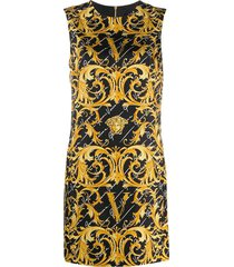 baroque signature sheath dress