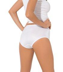 panty clasico blanco leonisa 02226