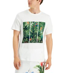inc international concepts men's jungle tryptic graphic t-shirt, created for macy's