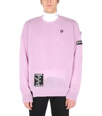 raf simons oversize fit sweater