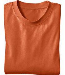 ecologisch t-shirt voor hem & haar, terracotta xl