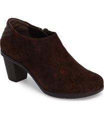 women's cloud ori low top bootie, size 10.5-11us - brown