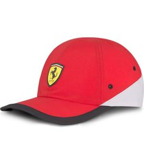 gorra roja puma scuderia ferrari sptwr race