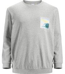 plus size sweatshirt fotoprint