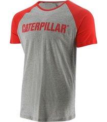 camiseta caterpillar hombre gris 2510760-x5o