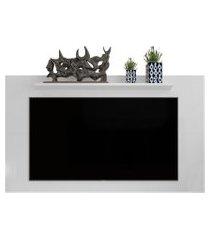 painel para tv 48 polegadas samba / texas - branco - rpm móveis