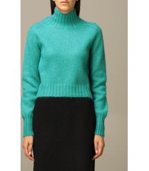 alberta ferretti sweater alberta ferretti mohair and virgin wool turtleneck