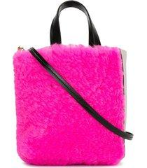 marni museo soft tote bag - pink