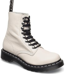 1460 pascal hdw black virginia shoes boots ankle boots ankle boot - flat vit dr. martens
