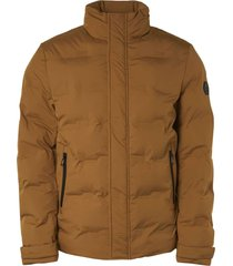 no excess jacket short fit padded sealed bronze