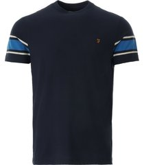 farah spielberg t-shirt | navy | f4ksb017-412