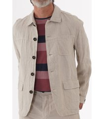 oliver spencer cowboy jacket - everning stone osmj291-eve01sto