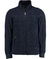 bos bright blue ethan pasetta/sweat jacket 21101et04sb/290 navy