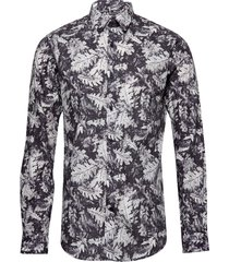 robo leaf print overhemd casual multi/patroon matinique