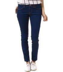 calça bloom jeans skinny cigarrete malha jeans feminina