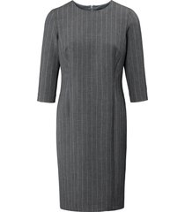 jurk met iets langere 3/4-mouwen van basler grijs