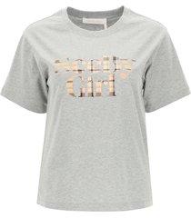 see by chloé logo t-shirt