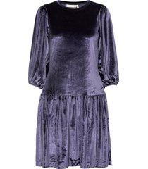 faryliw short dress jurk knielengte blauw inwear