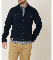 lois jeans tejana thin corduroy navy blue jacket 10015083n