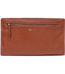'runaway i' buffalo leather envelope pouch