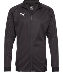 liga sideline softshell jkt outerwear sport jackets zwart puma