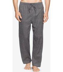 polo ralph lauren men's big & tall plaid cotton flannel pajama pants