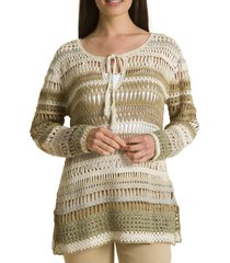 sweater crochet jose beige rockford