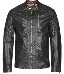 leren jas guess quilted eco leather jacket