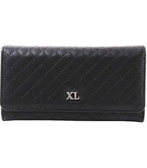 billetera  negra xl extra large tify